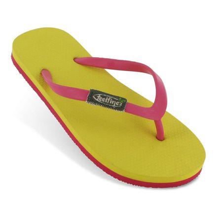 Feelfine'z: Canaria Kids, gelb - pink