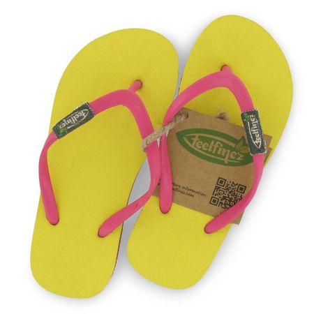 Feelfine'z: Canaria Kids 33/34, gelb - pink – Bild 4