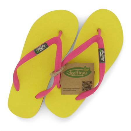 Feelfine'z: Canaria 35/36, gelb - pink – Bild 4