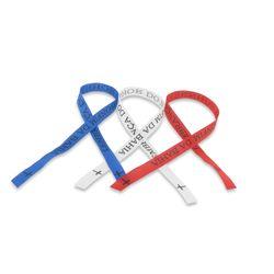 Frankreich Fan 3 Bonfim Bänder  blau, weiss, rot