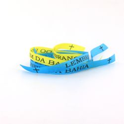 Schweden Fan 3 Bonfim Bänder blau, gelb, blau