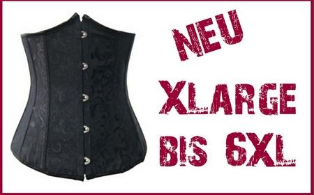 SiaLinda: Unterbrust Korsett Lula II,  mit Metallstäben, schwarz, Jacquard, sexy, Topqualität