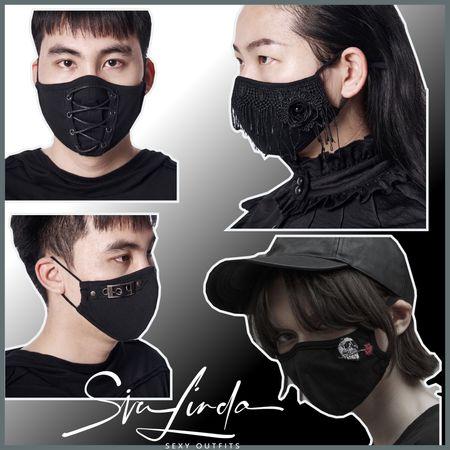 SiaLinda by Punk Rave: Mund-Nase-Masken, 4 coole Modelle