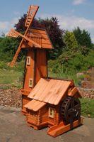 Windmühle mit integrierter Wassermühle Bild 3