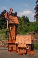 Windmühle mit integrierter Wassermühle Bild 4