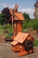 Windmühle mit integrierter Wassermühle Bild 5
