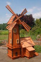 Windmühle mit integrierter Wassermühle Bild 2