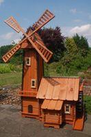 Windmühle mit integrierter Wassermühle