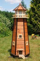 Riesiger Leuchtturm mit sparsamer LED Beleuchtung 1,40m XXL