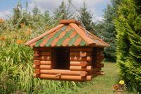 Vogelhaus zum aufhängen grün V13g 001