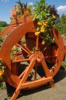 Blumentreppe, Blumenbank, Pflanztreppe 95cm Breite aus Holz, vollständig behandelt in braun Bild 6