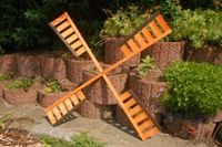 Flügel Windmühle Windrad Mühlenrad Windflügel wahlweise mit Kugellager verschiedene Längen Ersatzteile 004