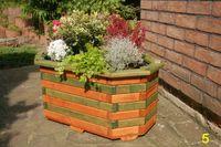 Blumentreppe, Blumenleiter, Pflanztreppe, Holz behandelt versch Farben / Modelle 007