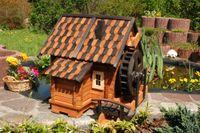 Wunderschöne gr. Wassermühle, Holz im Blockhausstil, Holzschindeln, XXL Bild 2