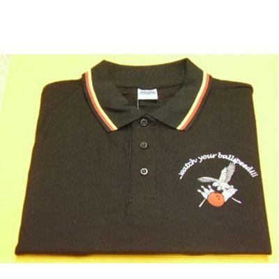 Poloshirt - Marina Clothing - schwarz – Bild 3