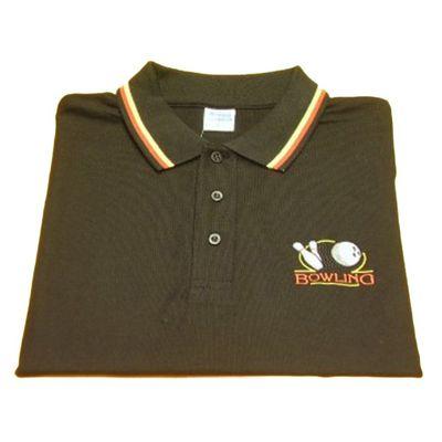 Poloshirt - Marina Clothing - schwarz – Bild 1