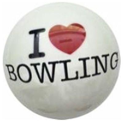 Bowlingball ALOHA I LOVE BOWLING