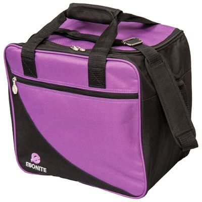 Bowlingtasche EBONITE Basic Single BlackPurple – Bild 1