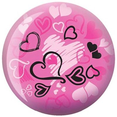 Bowlingball BRUNSWICK Viz-a-Ball Hearts