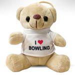 Teddy Bär I Love Bowling 001