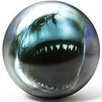 Bowlingball BRUNSWICK Viz-a-Ball Shark 001