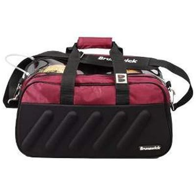 Bowlingtasche Brunswick Players Double Tote Black/Burgundy