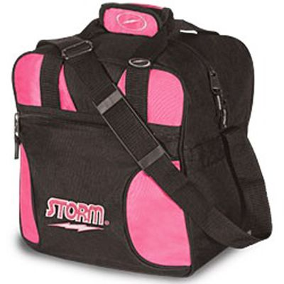 Bowlingtasche STORM 1-Ball Tote Black/Pink