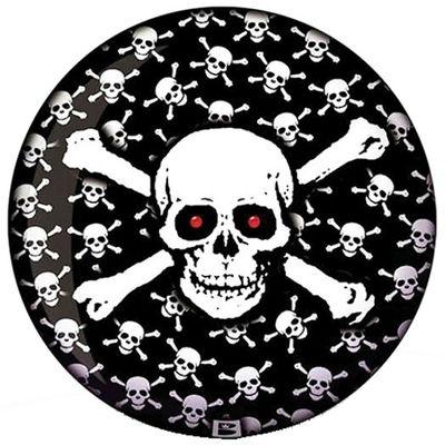 Bowlingball BRUNSWICK Viz-a-Ball Skull Crazy – Bild 1
