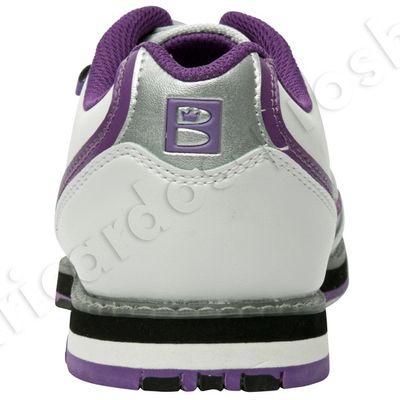 Bowlingschuhe Damen Brunswick Curve White/Purple – Bild 4