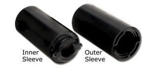 Bohrservice Fingertipbohrung + Daumeneinsatz Switchgrip Outer Sleeve – Bild 2