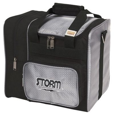 Bowlingtasche STORM 1-Ball Tote DeLuxe BlackSilver