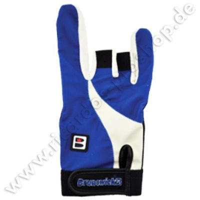 BRUNSWICK Handschuh Power X Glove Black/Royal – Bild 1