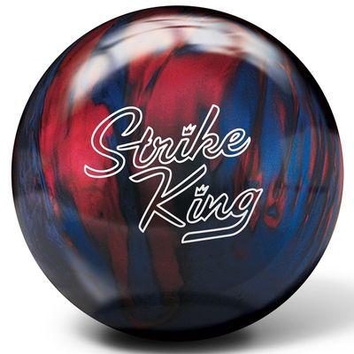 Bowlingball Brunswick Strike King BlueRed Pearl – Bild 1