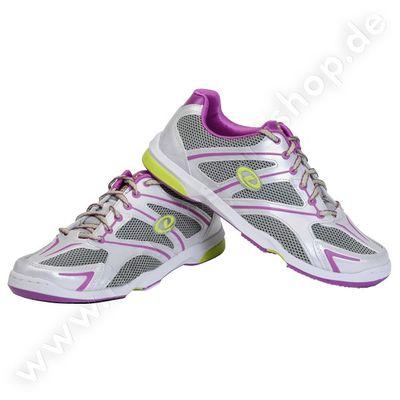 Bowlingschuhe Damen Dexter Megan Silver/Grey/Purple – Bild 1
