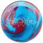 Bowlingball Pro Bowl Med. Blue / BlueRed 001