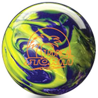 Bowlingball STORM Tropical  YellowPurple – Bild 1