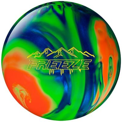 Bowlingball Reaktiv Columbia300 Freeze BlueOrangeGreen – Bild 1