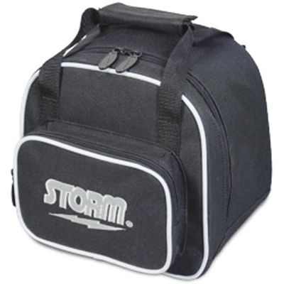 Bowling Ball Tasche Storm 1-Ball Tote Spare Kit Black