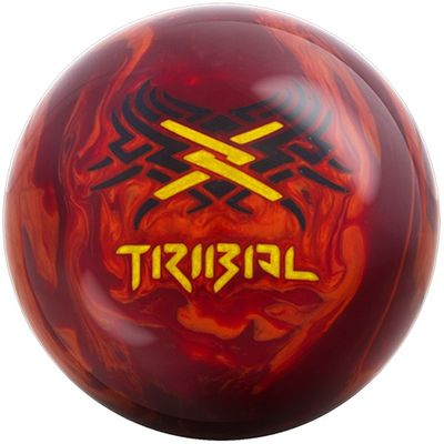 Bowlingball Reaktiv Motiv Tribal Fire