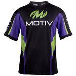 MOTIV Poloshirt Xtreme Sport GreenPurpleBlack 001