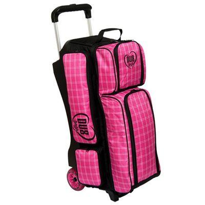 Bowlingtasche DV 8  DIVA Tripleroller Pink – Bild 1