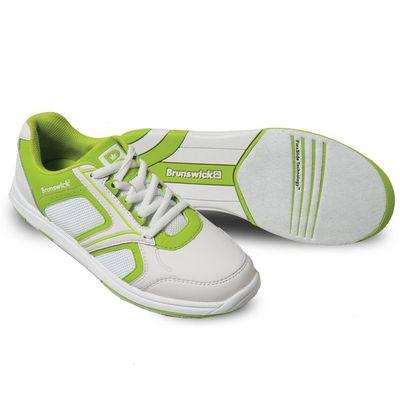Bowlingschuhe Damen Brunswick Spark White/Lime