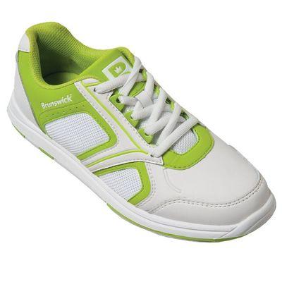 Bowlingschuhe Damen Brunswick Spark White/Lime – Bild 6