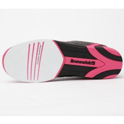 Bowlingschuhe Damen Brunswick Diamond Black-Hot Pink – Bild 5