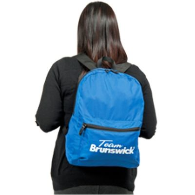 Bowlingtasche BRUNSWICK Slim Accessory Backpack Royal – Bild 1