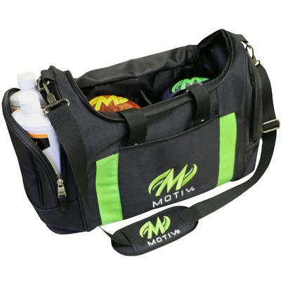 Bowlingtasche Doppeltasche Motiv DeLuxe Double Tote BlackGreen – Bild 1
