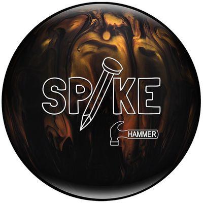 Bowlingball Reaktiv Hammer Spike BlackGold Gebraucht