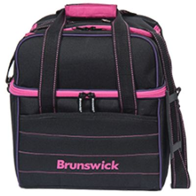Bowlingtasche BRUNSWICK Kooler C Single BlackPinkPurple