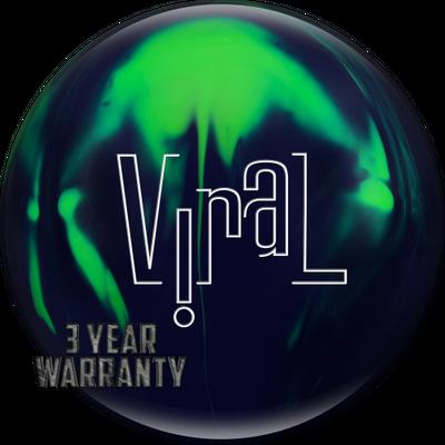 Bowlingball Reaktiv Hammer Viral Solid – Bild 2