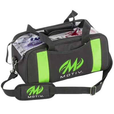 Bowlingtasche Doppeltasche Motiv Clear View Double Tote BlackGreen